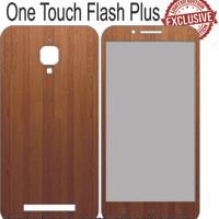 Garskin Alcatel One Touch Flash Plus Kayu