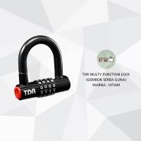 TDR Multifunction Lock / Gembok TDR Serba Guna