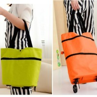 harga Tas Troli 01 Lipat Troly Shopping Foldable Trolley Bag Cart Koper Tote Tokopedia.com