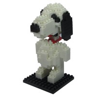 LDL 114 Lego Action Figure Nano Blocks Cartoon Series Snoopy