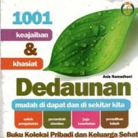 harga 1001 Keajaiban & Khasiat Dedaunan s138 Tokopedia.com