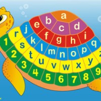 Jual Puzzle Alfabet kura-kura | Mainan Edukasi | edukatif anak SNI Murah Murah