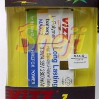 BATERAI VIZZ ANDROMAX I2/MAX I2 2800mah
