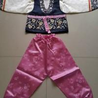 Baju Hanbok - KOREA : boy dark pink