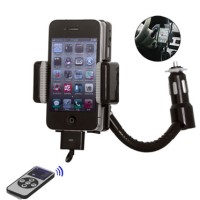 iPhone, iPod Touch FM Transmitter With Remote