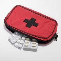 Tas Wadah Kotak Obat P3k Murah- Taylor Fine Goods Pouch Remedy 404 Red