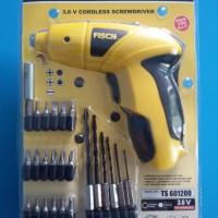 FISCH Cordless Screwdriver (Obeng Elektrik & Bor Wireless)