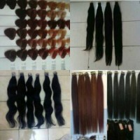 hair extension hair ring rambut sambung smoting warna or color