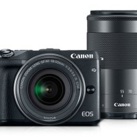Canon EOS M3 Kit EF-M18-55mm & 55-200mm