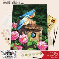 Melukis Sendiri E105-Blue Bird 30 x 40cm