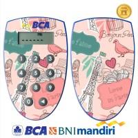 harga Garskin Token Bca, Mandiri, Bni Original - Paris Lover/ Custom Tokopedia.com