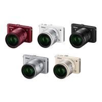 Kamera Mirrorless Nikon J3 + 10-30mm + 30-110mm