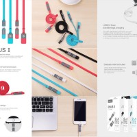 Kabel Data Nillkin Data Cable Plus II 8-Pin and Micro USB Iphone 4S 5S