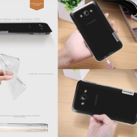 Softcase Nillkin Nature Jelly Soft Casing Cover Case Samsung Galaxy A8