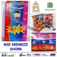 Mie Kremezz Shorr 3 Rasa Mix Isi 24Pcs (Anak Mas / Anakmas) Grosir