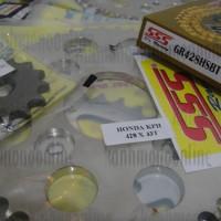 harga Gear Sss (set) 428 Satria F150 Size 12t~16t+41t~45t+sss Hsbt 120l Gold Tokopedia.com