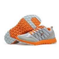 Sepatu Running/Jogging/Olahraga wanita KETA 657 Grey/Orange