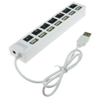 USB HUB 7 Port 2.0 High Speed with Switch ON OFF