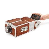 harga Portable Cardboard Smartphone Projector 2.0, Proyektor Portable Tokopedia.com