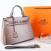 tas branded Hermes kelly himalaya dove semipremium warna grey