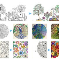 Harga Korean Coloring Book Secret Garden Buku Mewarnai Korea Tokopedia