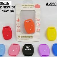 Casing Silicone kunci Mobil Honda Jazz New 2008