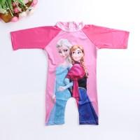 Frozen Swimsuit/Baju Renang Frozen/Baju Renang Anak lengan panjang