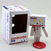 Mini Boneka Danbo Amazon Danboard - Albino