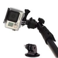 Set Tongsis Yunteng dan goPro Adapter (mount gopro mur baut lengkap)