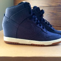 Sneaker Wedges Nike Sky High Dunk Dongker