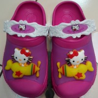 CROCS CROCSLIGHTS HELLO KITTY CLOG (LED/LAMPU HK KIDS)