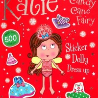 harga Katie the Candy Cane Fairy Dolly Dress Up Sticker Book with over 500 Tokopedia.com