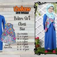 harga Baju Muslim Anak/gamis Anak / Thaluna Kids Clothing Bolero Set Olivia Tokopedia.com