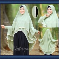 harga Jilbab Khimar Lengan Modern YUMNA By Qalisya Hijab Tokopedia.com