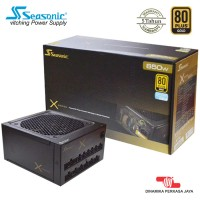 PSU SEASONIC X650 (RETAIL) Full Modular, Full Range, 80 PLUS GOLD
