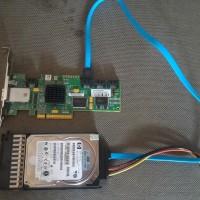 PCI Express Untuk Hardisk SAS to PC Biasa.