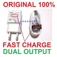 ORI FAST Charge Charger Samsung Note 4 2/S6/Mega Ace Galaxy Duos Mini