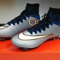harga Soccer Nike Mercurial Superfly Flyknit Silver CR7(Grade Ori Import) Tokopedia.com