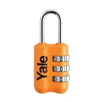 Gembok Yale YP2/23/128/1O TRAVEL LOCK ORANGE