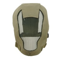 TMC Fencing Metal Mesh Full Face Airsoft Mask - OD