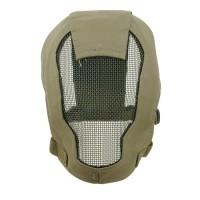 TMC Fencing Metal Mesh Full Face Airsoft Mask - OD