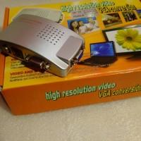 converter VGA to RCA video & S-video