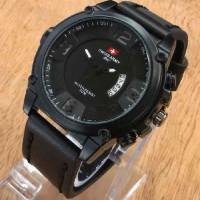 Jual Jam tangan Swiss Army TM01 tali kulit terbaru keren ( seiko alba gc ) Murah