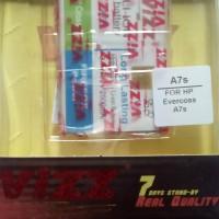 Batre/baterai Evercoss Cross A7s Double Power Vizz