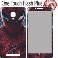 Garskin Alcatel One Touch Flash Plus Spider Man Face