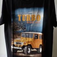 harga T-shirt / Kaos Otomotif Mobil Land Cruiser Turbo Tokopedia.com