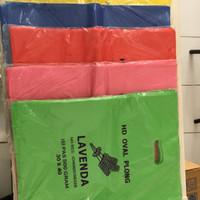 30x40 Kantong Plastik/ Plastik Kresek Warna /Plastik Soft Handle JUMBO