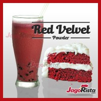 1 Kg Jagorista - Red Velvet - Premium Bubble Drink Powder
