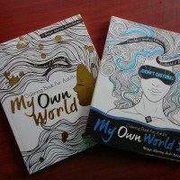 Paket My Own World Coloring Book For Adults 1 Dan 2 Harga