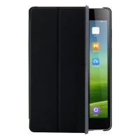 harga Flip Stand Leather Case Cover for Xiaomi Mi Pad - Black Tokopedia.com
